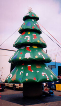 Christmas Tree advertising inflatables