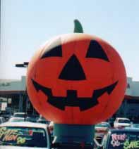 25 ft. jack o'lantern cold-air inflatable